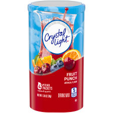 Crystal Light Fruit Punch Powdered Drink Mix 4ct 1.36 oz
