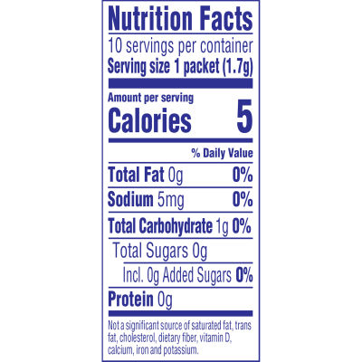 Crystal Light On-The-Go Sugar-Free Powdered Raspberry Ice Drink Mix, 10 - 0.06 oz Packets