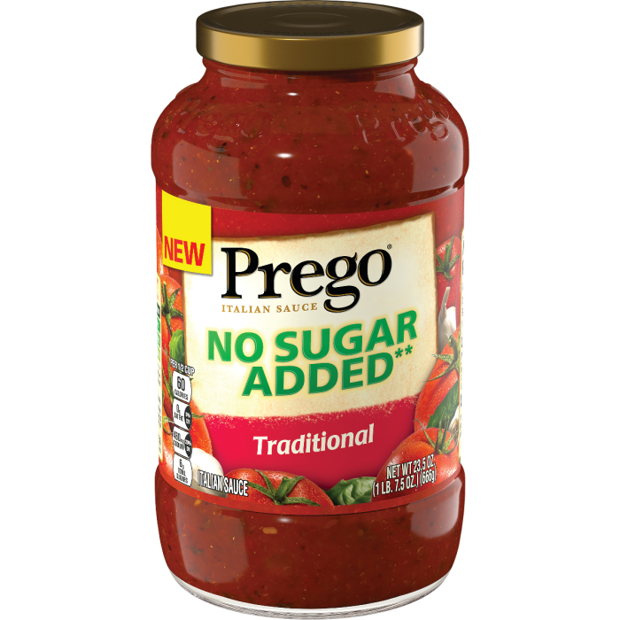 No Sugar Added Traditional Italian Sauce