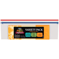 Hoffman's Deli Style Cheese Variety Pack 36 Slices - 24 oz