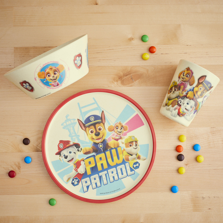 Paw Patrol Kids 3-piece Dinnerware Set, Chase, Marshall & Friends, 3-piece set slideshow image 10