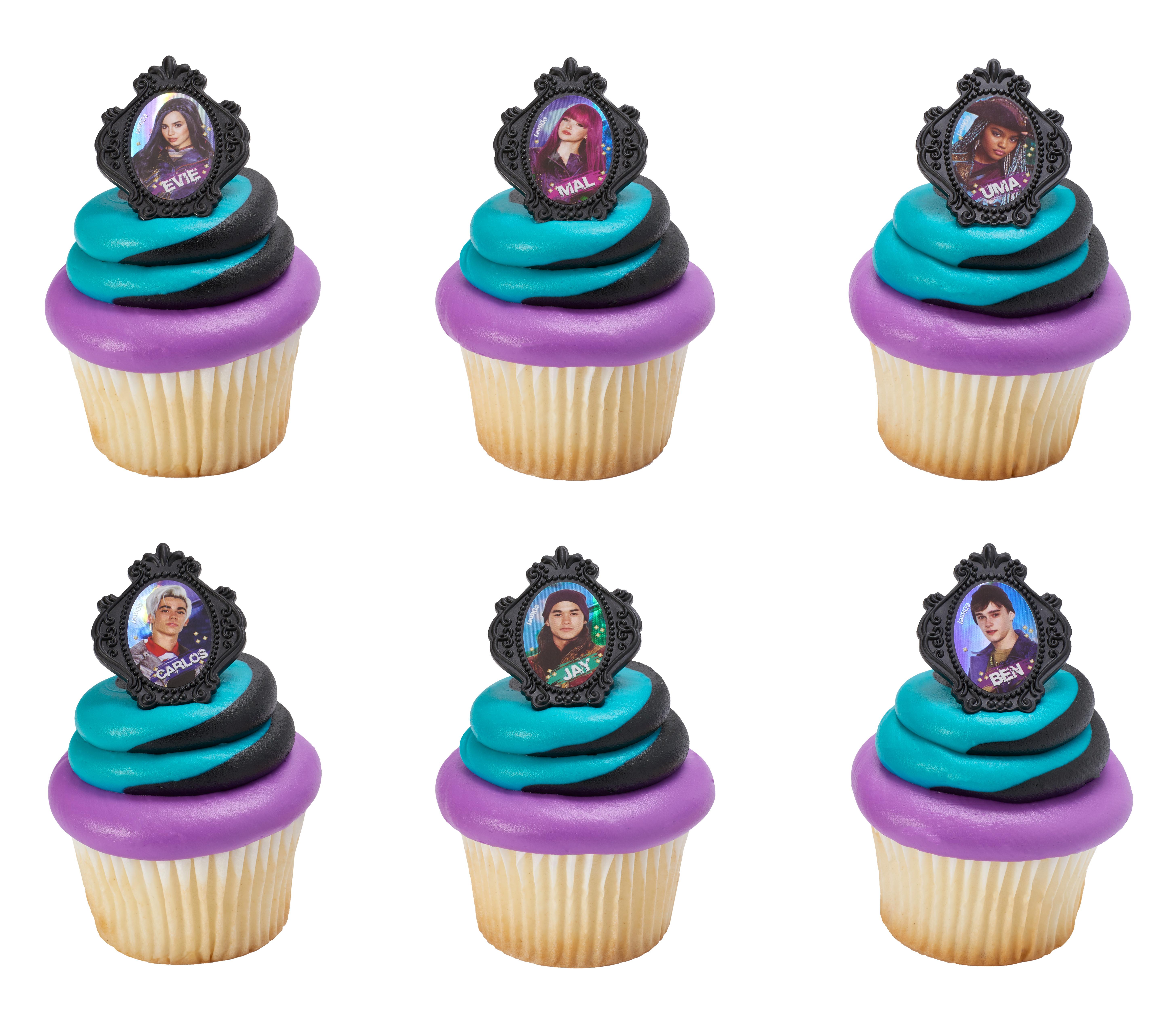 disney's descendants cupcakes - HD5825×5108