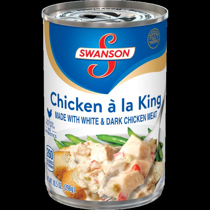 Chicken á la King Made with White Meat Chicken