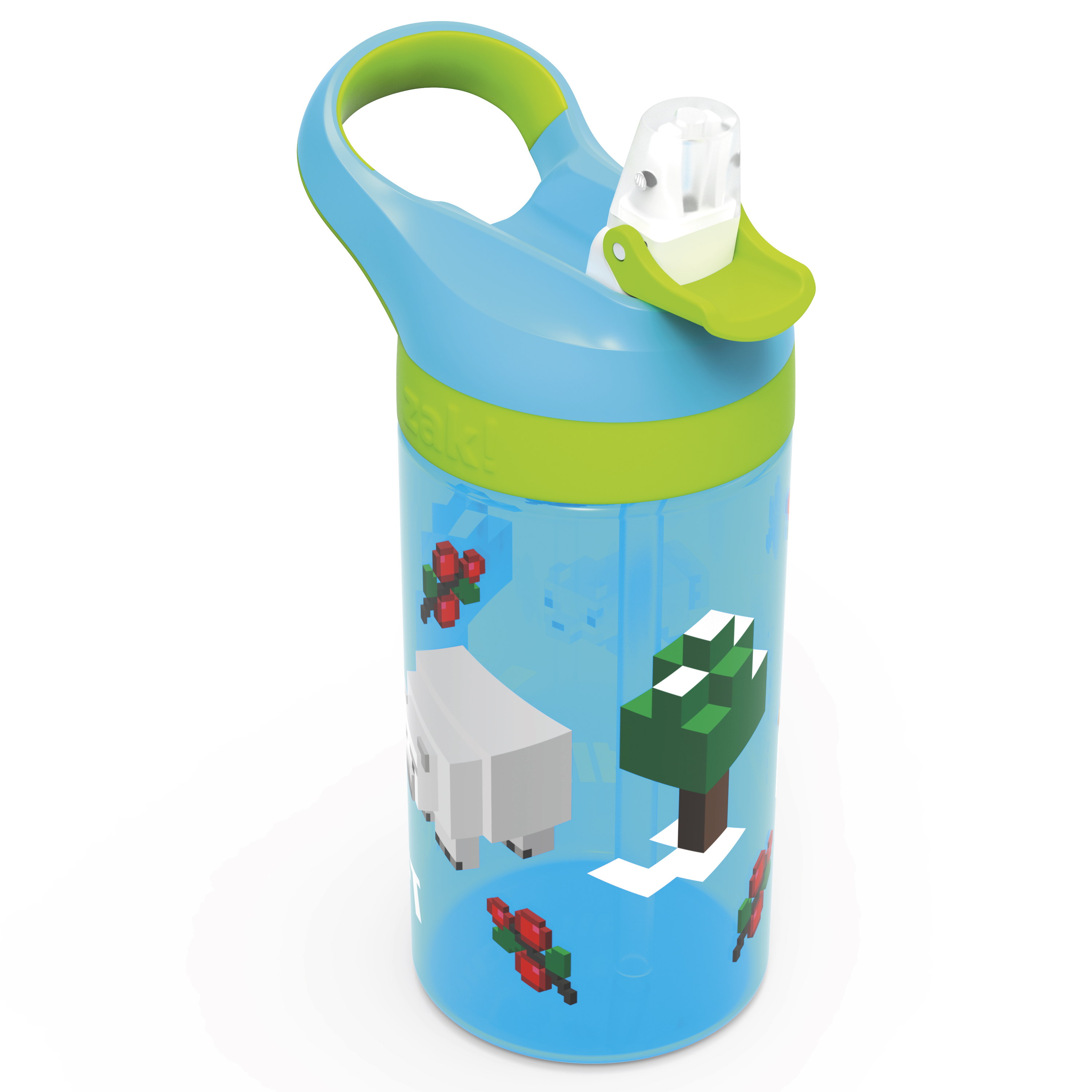 Minecraft 16 ounce Water Bottle, Assorted Minecraft Characters slideshow image 6