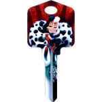Disney Cruella De Vil Key Blank