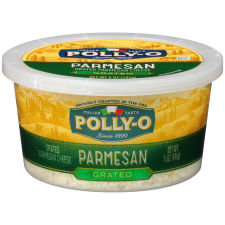Polly-O Grated Parmesan Cheese 5 oz Tub