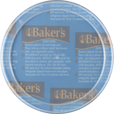 Baker's Dipping Chocolate Real Milk Chocolate 7 oz Tub
