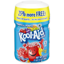 Kool-Aid Tropical Punch Drink Mix, 23.9 oz Canister