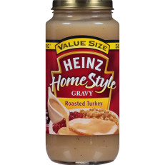 Heinz Home-Style Roasted Turkey Gravy, 18 oz Jar image