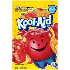 Kool-Aid Peach Mango Powdered Soft Drink 4.72 oz Pouch