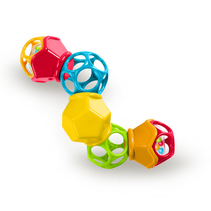 Clicky Twister™ Easy-Grasp Rattle