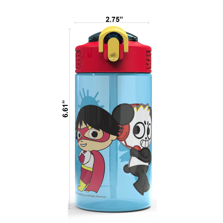 Ryan's World 16 ounce Water Bottle, Ryan & Friends, 2-piece set slideshow image 6