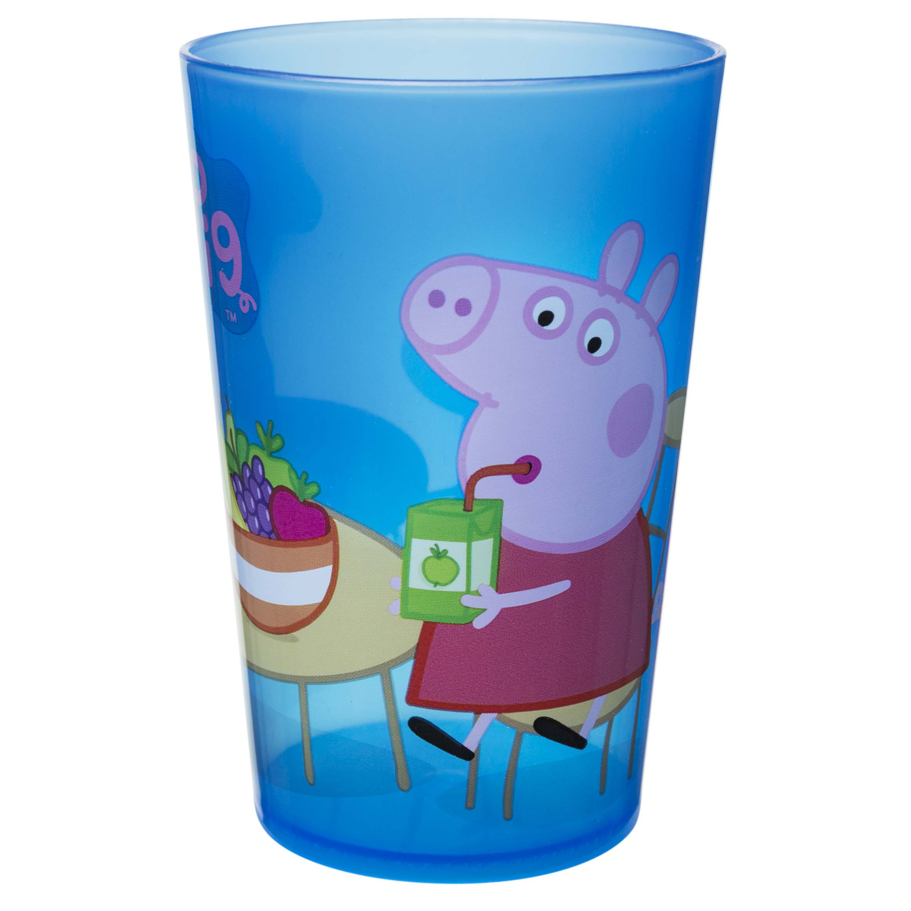 Peppa Pig Kid's Dinnerware Set, Peppa & Friends, 3-piece set