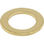 """Brass-Plated Washer (1/8 IPS x 5/8"""")"""