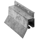 Hillman Box Rail Face Mount Covered