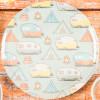 Adventurer Melamine Plate, Tents & Trailers, 6-piece set slideshow image 3