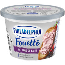 Philadelphia Whipped Mixed Berry Cream Cheese