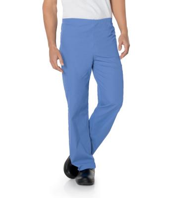 Landau Essentials 5 Pocket Drawstring Scrub Pants : Classic Relaxed Fit, Tapered Leg 2029-