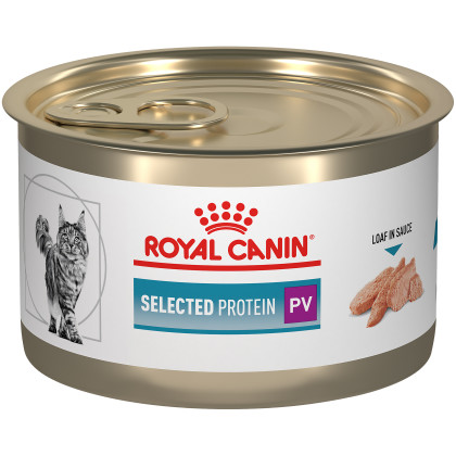 Feline Selected Protein PV Loaf in Sauce Canned Cat Food