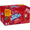 Kool-Aid Sparklers Cherry Flavored Sparkling Drink, 6 - 7.5 fl oz Cans