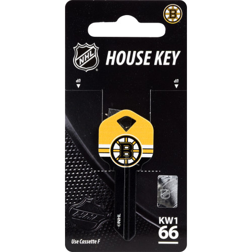 NHL Boston Bruins Key Blank