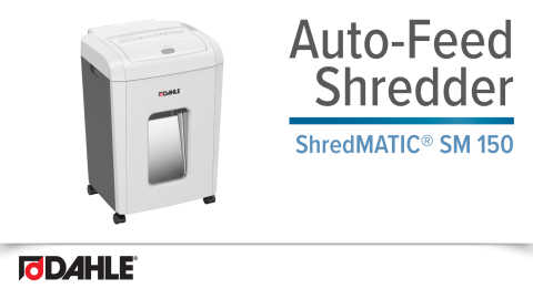 Dahle ShredMATIC® SM 150 Auto-Feed Shredder Video