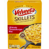 Kraft Velveeta Cheesy Skillets Ultimate Cheeseburger Mac Dinner Kit, 12.8 oz Box