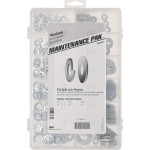 Zinc-Plated Flat & Split Washer Assortment Kit