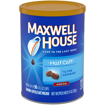 Maxwell House Lite Ground Coffee, 11 oz Canister