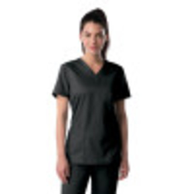 Landau ProFlex Scrub Top for Women: 3 Pocket, Modern Tailored Fit, V-Neck Stretch 4169-