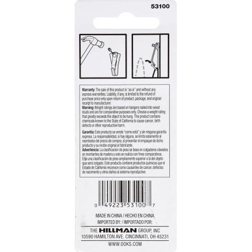 OOK Tremor Picture Hanger 20lb 3 Pack