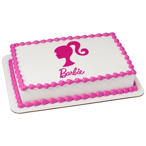 Barbie™ Silhouette PhotoCake® Edible Image®