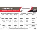 Star Security Button-Head Stainless Sheet Metal Screws Assortment (#10 & #14)