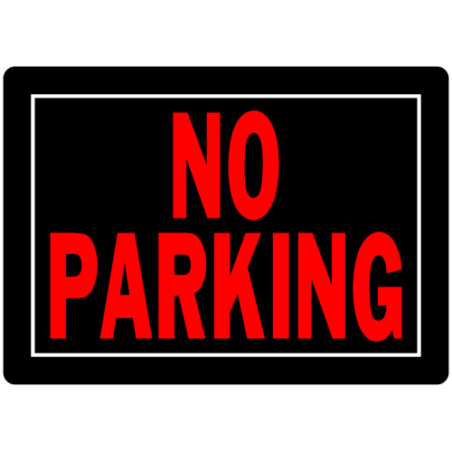 No Parking Sign (10