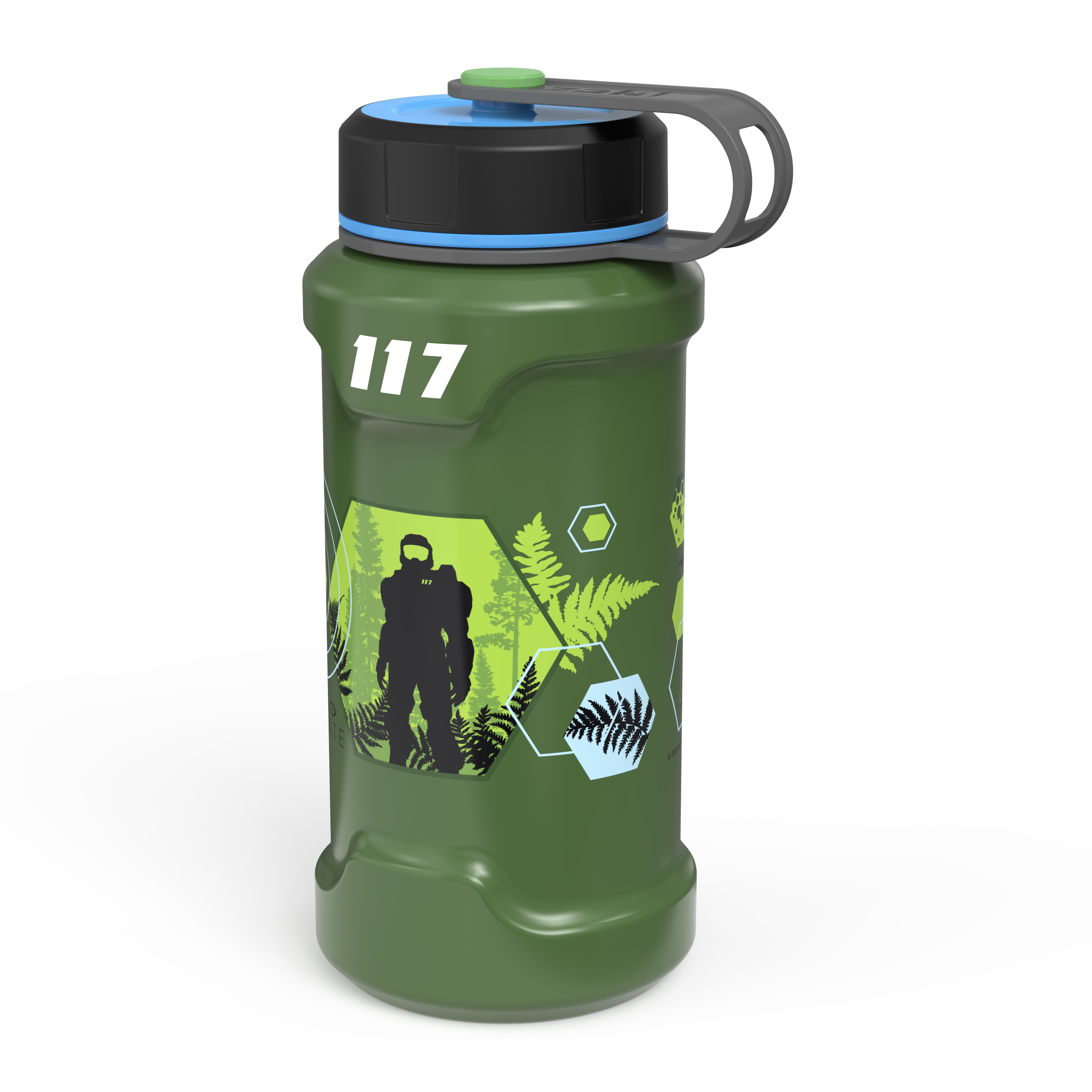 XBOX 24 ounce Stainless Steel Insulated Water Bottle, Halo slideshow image 2
