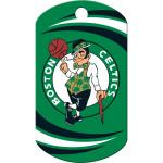 Boston Celtics Chrome Large Military ID Quick-Tag