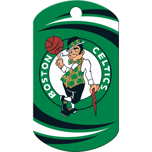 Boston Celtics Chrome Large Military ID Quick-Tag 25 Pack