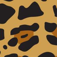 Swatch for Duck Washi® Crafting Tape - Wild Leopard, .75 in. x 240 in.