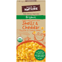 Back to Nature Organic Shells & Cheddar Macaroni & Cheese Dinner 6 oz. Box image