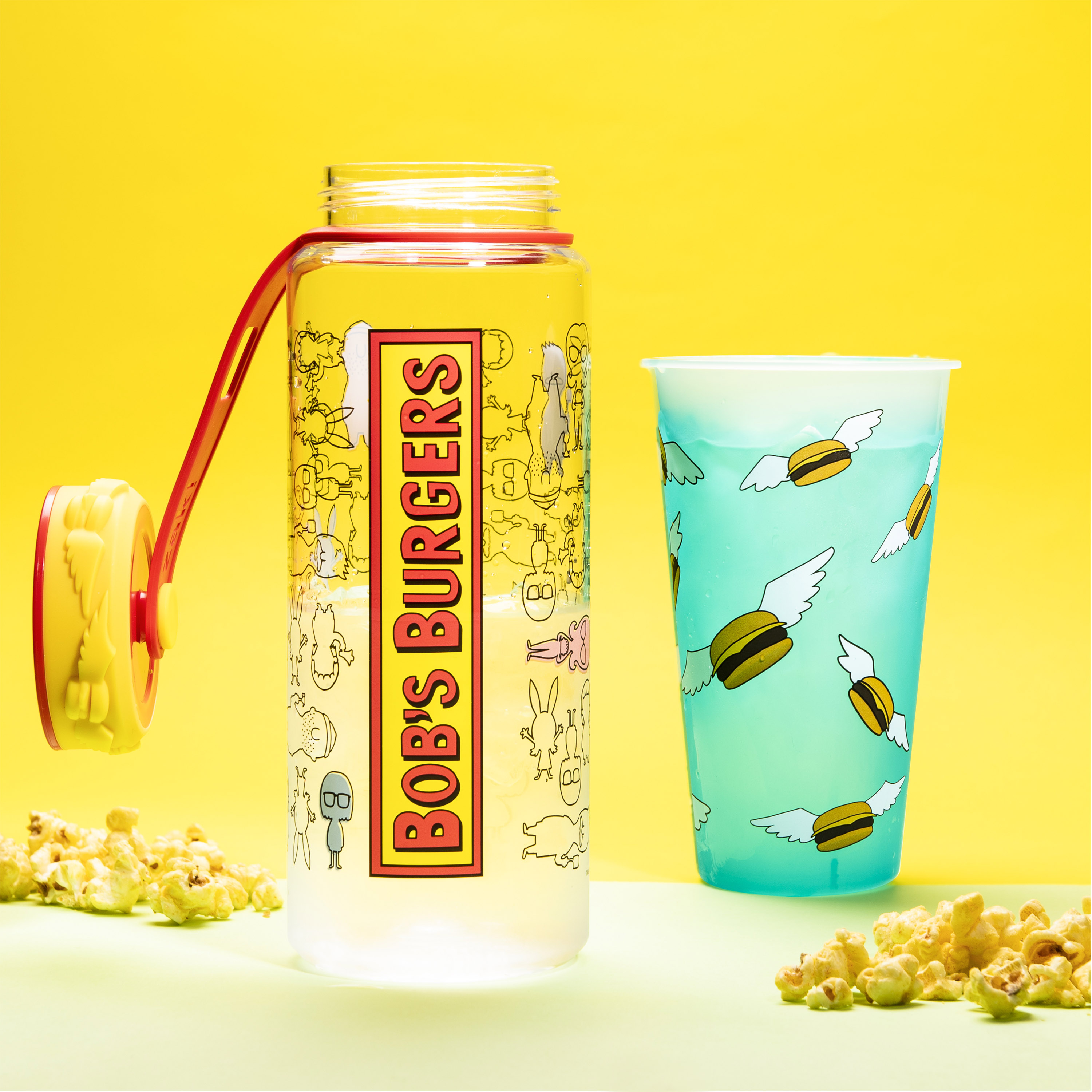 Bobs Burgers 36 ounce Water Bottles, The Belcher Family slideshow image 3