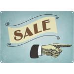 """Vintage Sale Novelty Sign (10"""" x 14"""")"""
