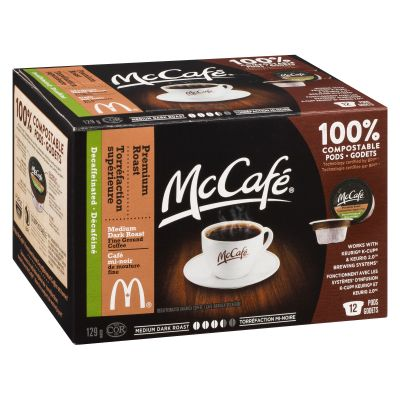 McCafé Premium Roast Decaffeinated Coffee Keurig K-Cup Pods
