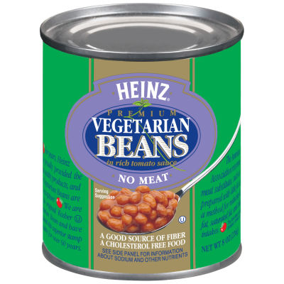 Heinz Vegetarian Beans in Rich Tomato Sauce 8 oz Can