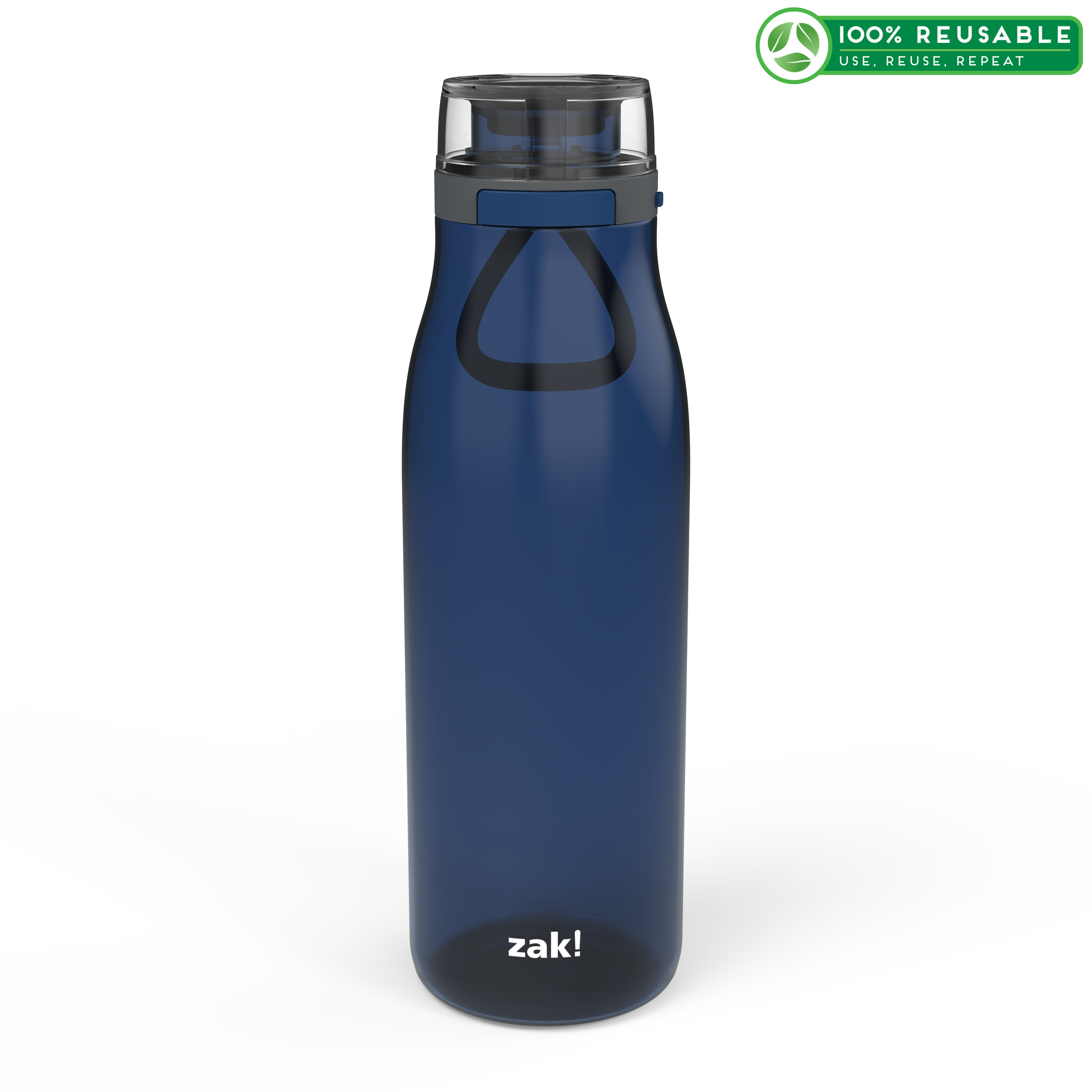 Kiona 31 ounce Water Bottle, Indigo slideshow image 1