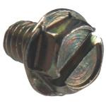 Green Hex Washer Head Machine Screw