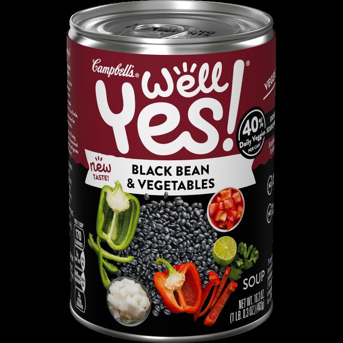 Black Bean & Vegetables Soup