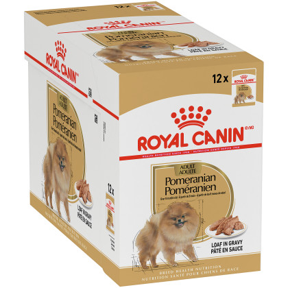 Royal Canin Breed Health Nutrition Pomeranian Pouch Dog Food