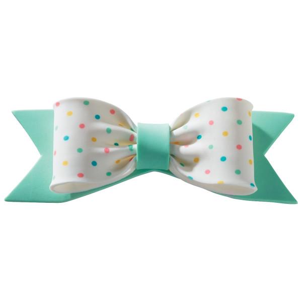 Pastel Dots Assortment Gum Paste Bows