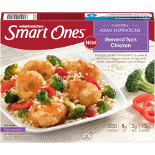 Weight Watchers Smart Ones Flavorful Asian Inspirations General Tso's Chicken 9 oz Box
