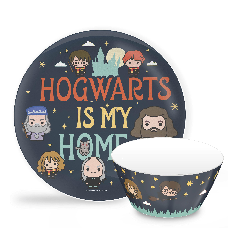 Harry Potter Dinnerware Set, Hogwarts is my Home, 2-piece set slideshow image 1